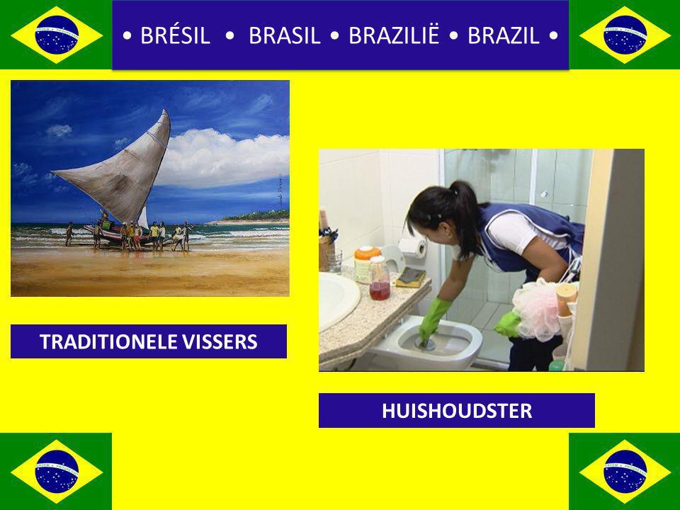 BRÉSIL BRASIL BRAZILIË BRAZIL TRADITIONELE VISSERS HUISHOUDSTER