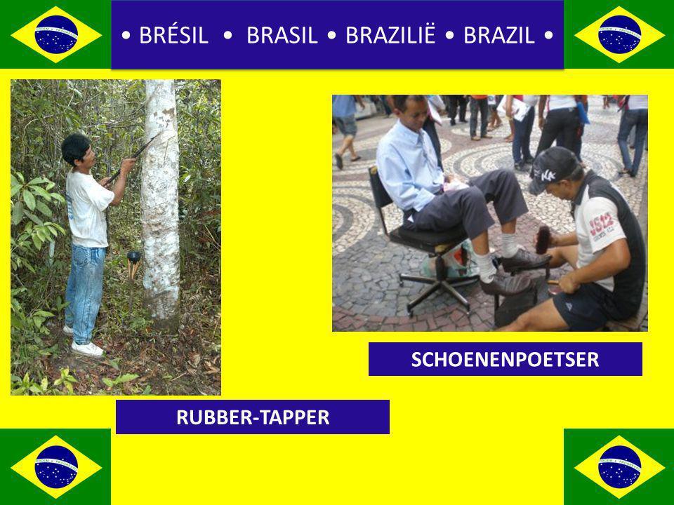 BRÉSIL BRASIL BRAZILIË BRAZIL RUBBER-TAPPER SCHOENENPOETSER