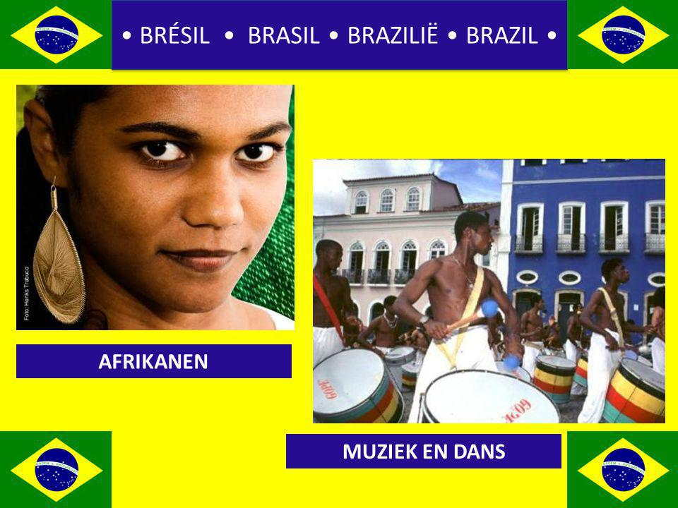 BRÉSIL BRASIL BRAZILIË BRAZIL AFRIKANEN MUZIEK EN DANS