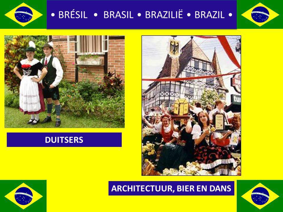 BRÉSIL BRASIL BRAZILIË BRAZIL DUITSERS ARCHITECTUUR, BIER EN DANS