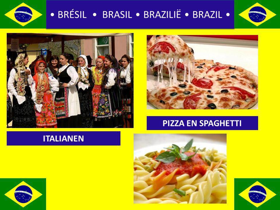 BRÉSIL BRASIL BRAZILIË BRAZIL ITALIANEN PIZZA EN SPAGHETTI