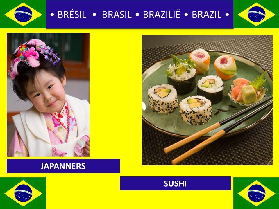 BRÉSIL BRASIL BRAZILIË BRAZIL JAPANNERS SUSHI