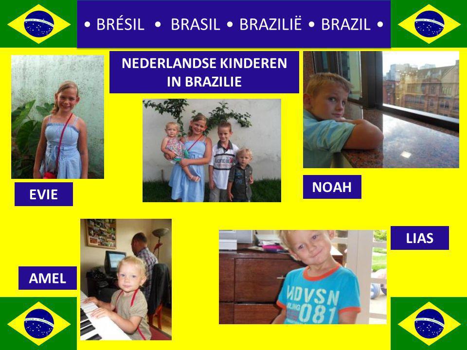 BRÉSIL BRASIL BRAZILIË BRAZIL NEDERLANDSE KINDEREN IN BRAZILIE EVIE AMEL NOAH LIAS