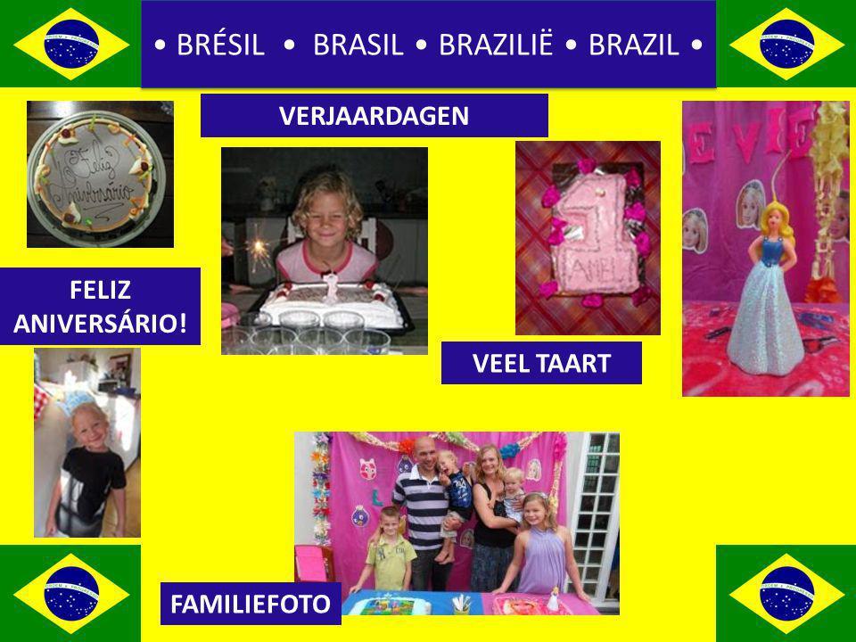 BRÉSIL BRASIL BRAZILIË BRAZIL VERJAARDAGEN FAMILIEFOTO VEEL TAART FELIZ ANIVERSÁRIO!