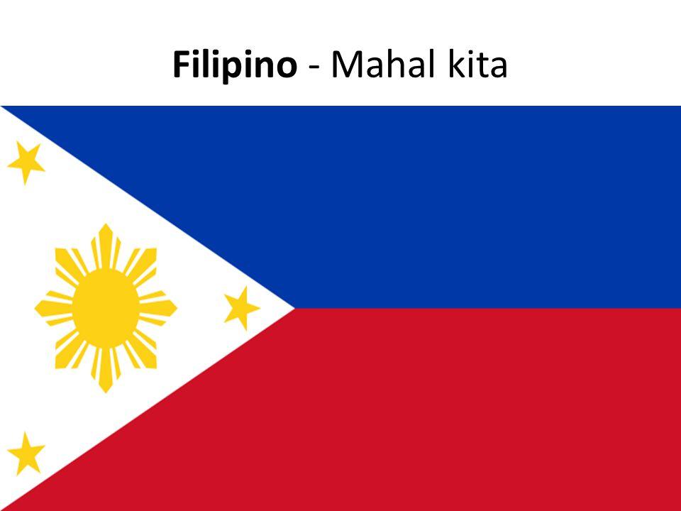 Filipino - Mahal kita