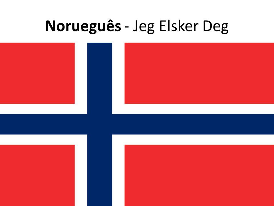 Norueguês - Jeg Elsker Deg