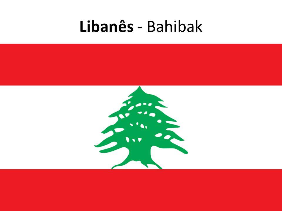 Libanês - Bahibak