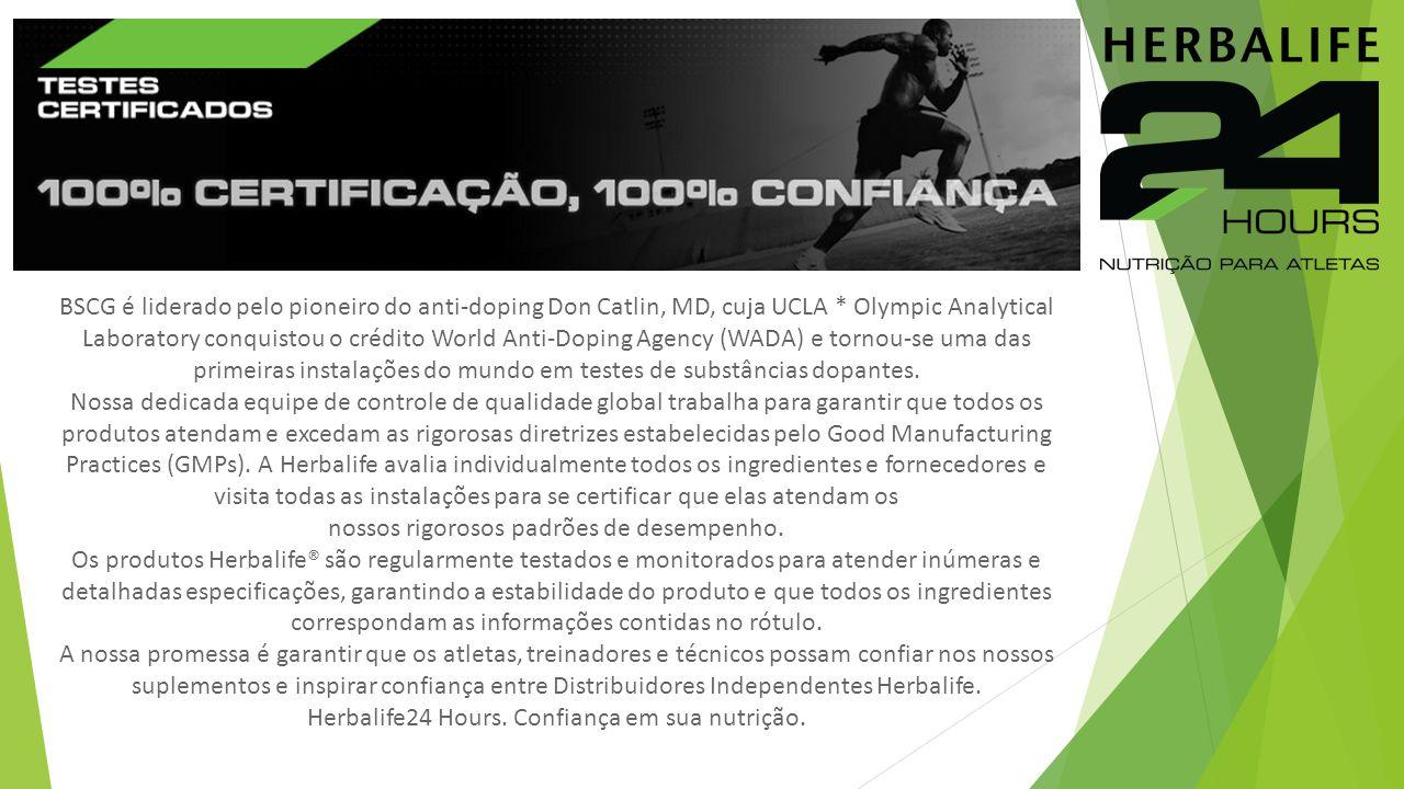 BSCG é liderado pelo pioneiro do anti-doping Don Catlin, MD, cuja UCLA * Olympic Analytical Laboratory conquistou o crédito World Anti-Doping Agency (