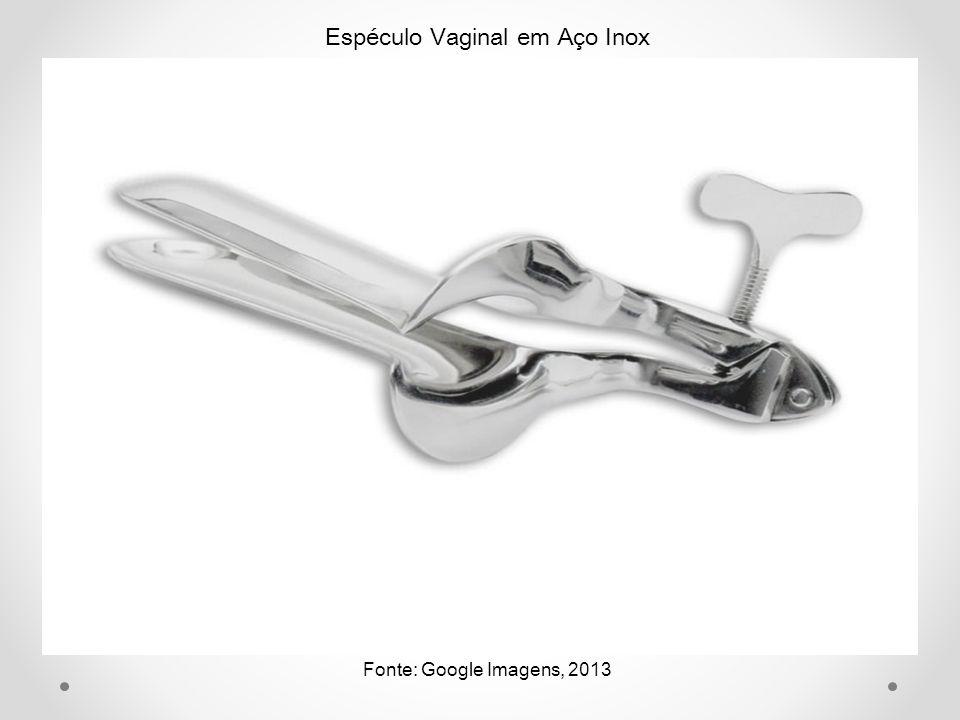 Espéculo Vaginal em Aço Inox Fonte: Google Imagens, 2013