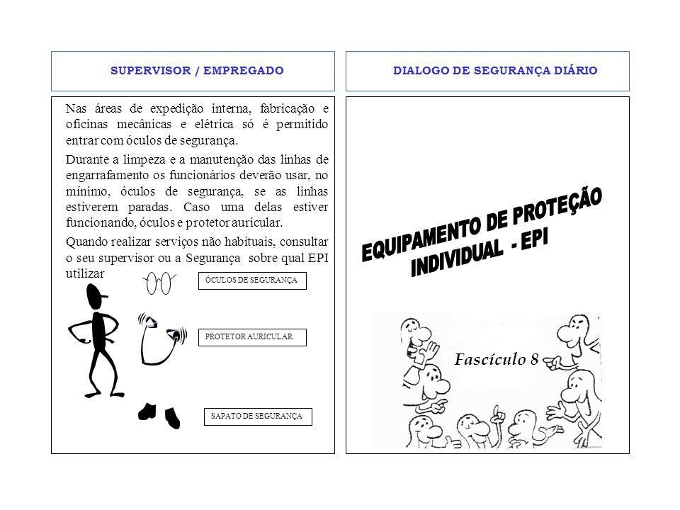 EPI'S O EPI é necessário para a segurança do funcionário no desempenho de suas funções.