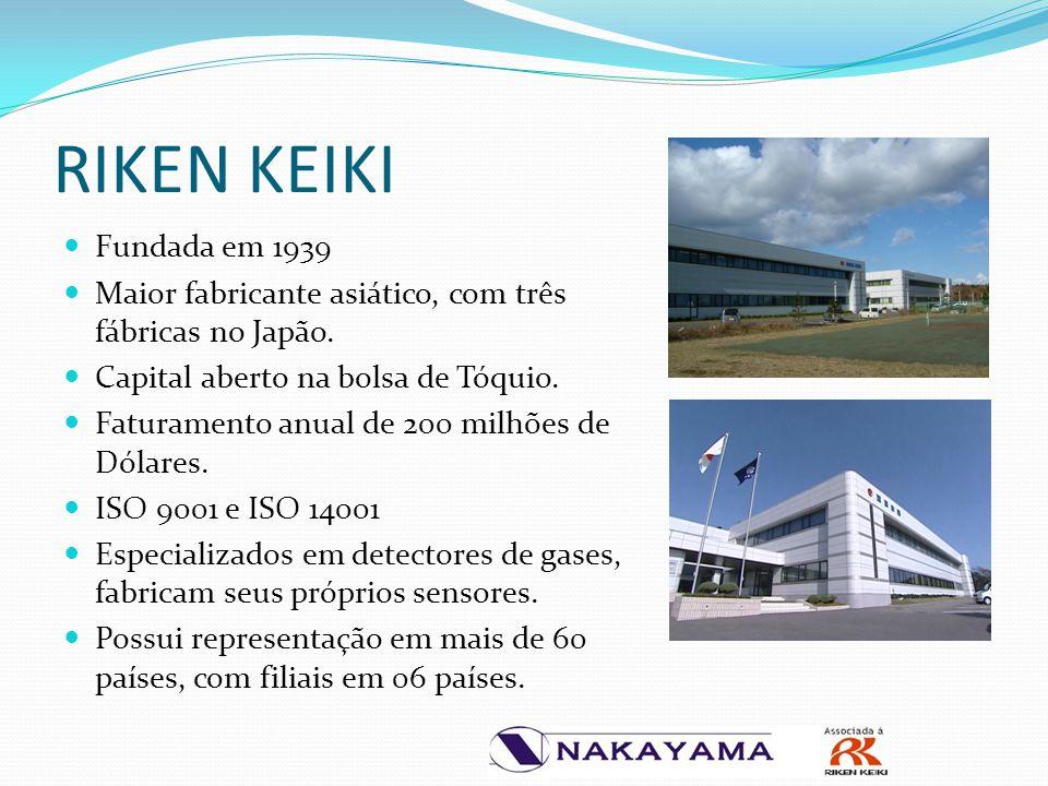 Fundada em 1939 Maior fabricante asiático, com três fábricas no Japão. Capital aberto na bolsa de Tóquio. Faturamento anual de 200 milhões de Dólares.