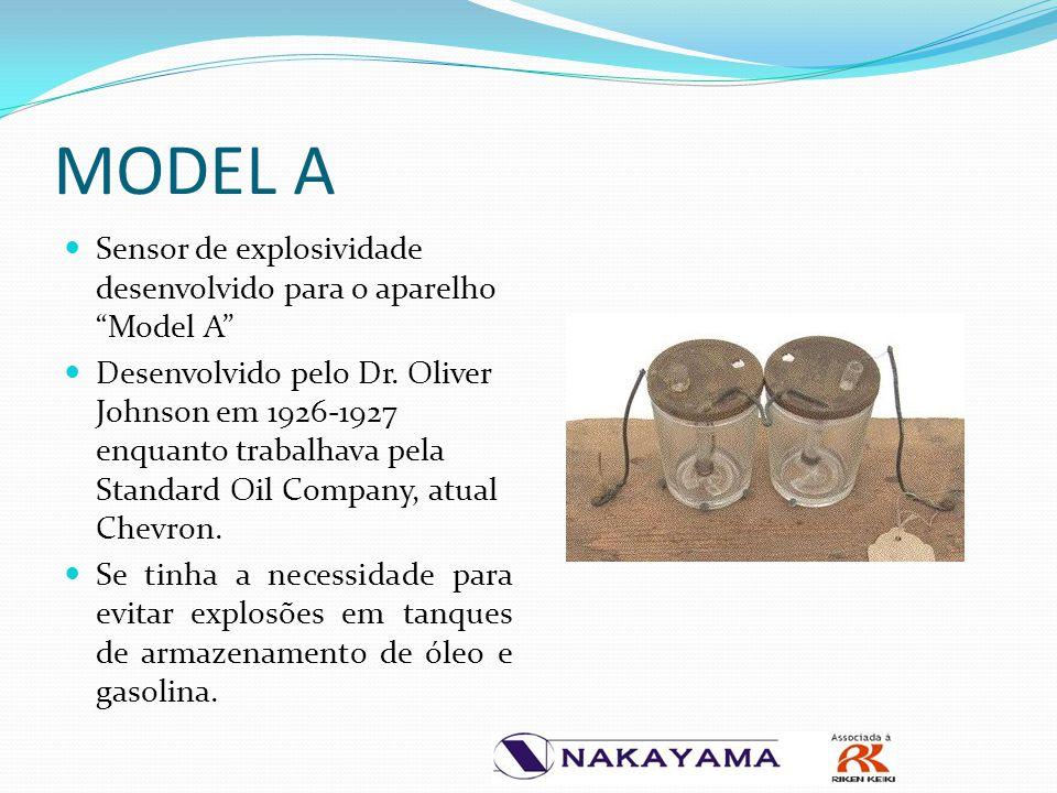 """Sensor de explosividade desenvolvido para o aparelho """"Model A"""" Desenvolvido pelo Dr. Oliver Johnson em 1926-1927 enquanto trabalhava pela Standard Oil"""