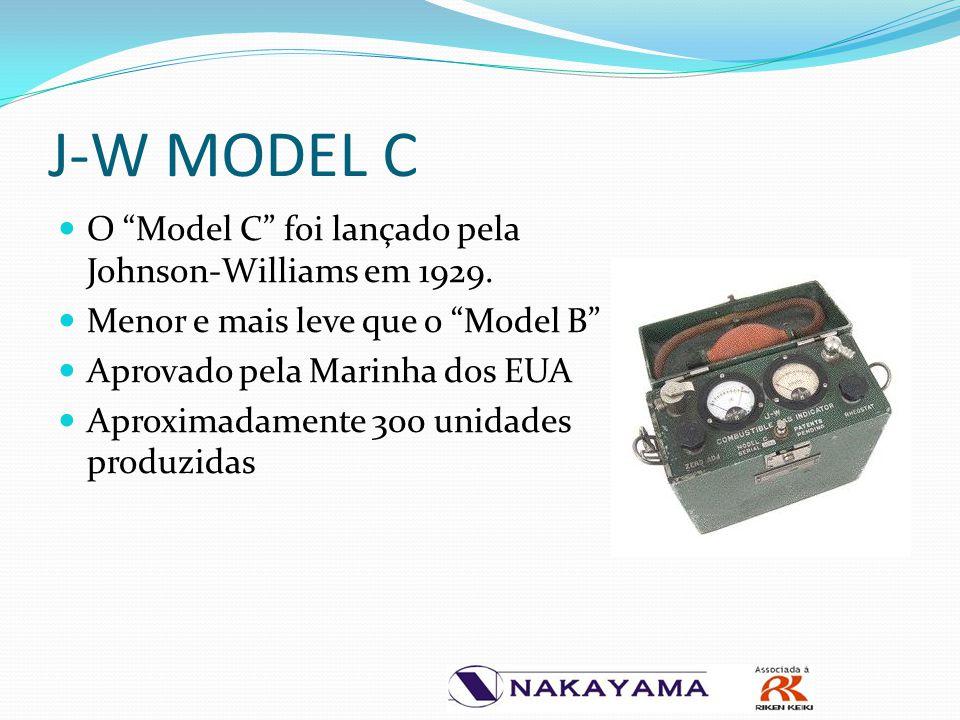 """O """"Model C"""" foi lançado pela Johnson-Williams em 1929. Menor e mais leve que o """"Model B"""" Aprovado pela Marinha dos EUA Aproximadamente 300 unidades pr"""