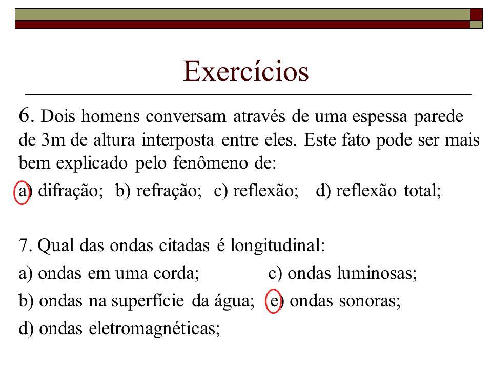 Exercícios 6.