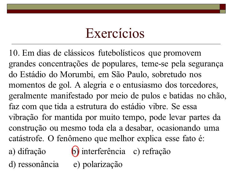 Exercícios 10.