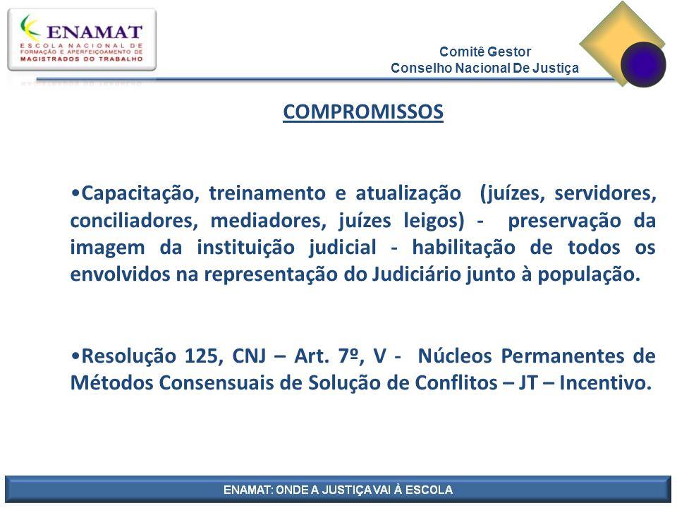 Comitê Gestor Conselho Nacional De Justiça