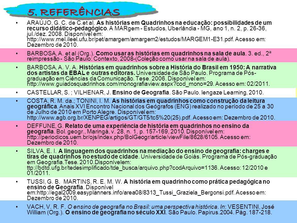 ARAÚJO, G.C. de C.et al.
