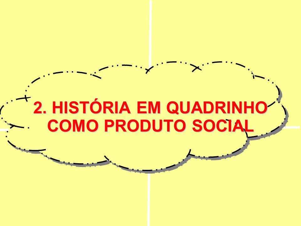 2.HISTÓRIA EM QUADRINHO COMO PRODUTO SOCIAL 2. HISTÓRIA EM QUADRINHO COMO PRODUTO SOCIAL
