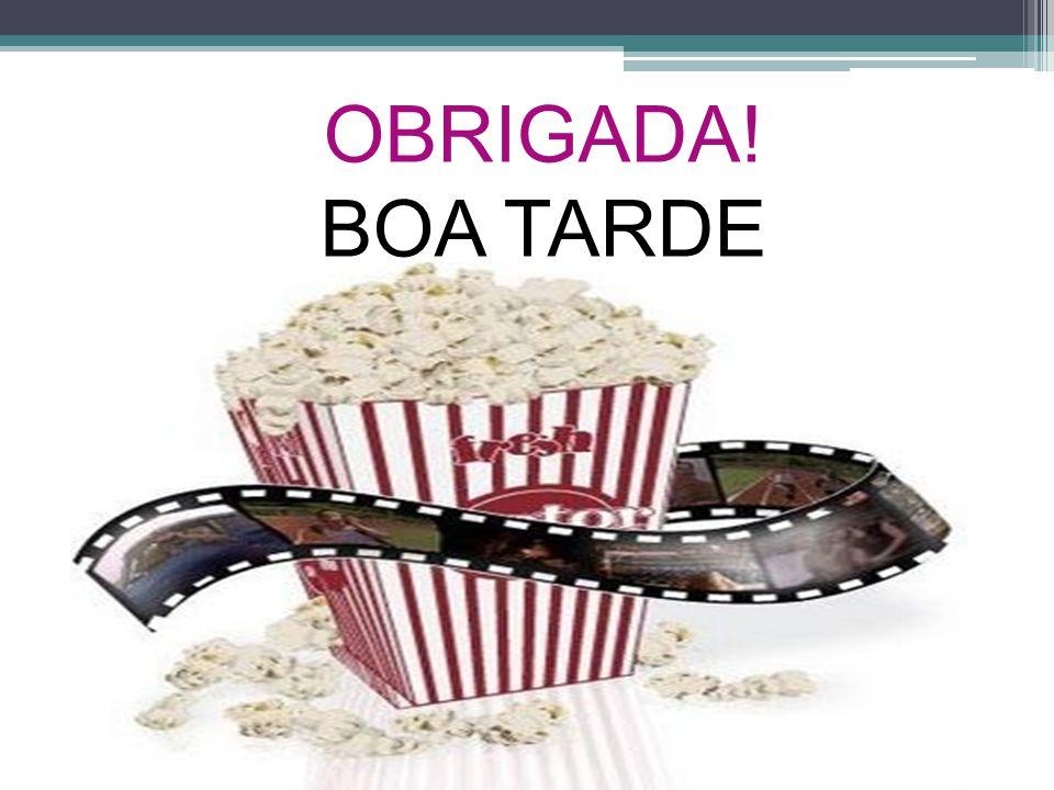 OBRIGADA! BOA TARDE