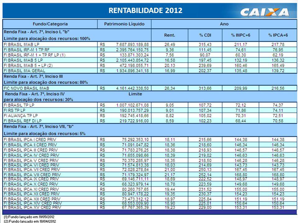 20 RENTABILIDADE 2012
