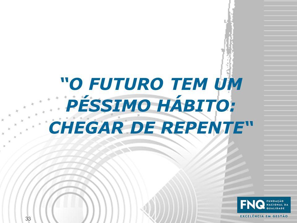"""33 """"O FUTURO TEM UM PÉSSIMO HÁBITO: CHEGAR DE REPENTE"""""""