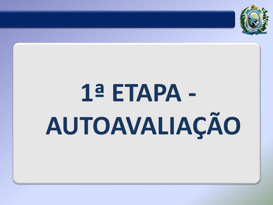1ª ETAPA - AUTOAVALIAÇÃO
