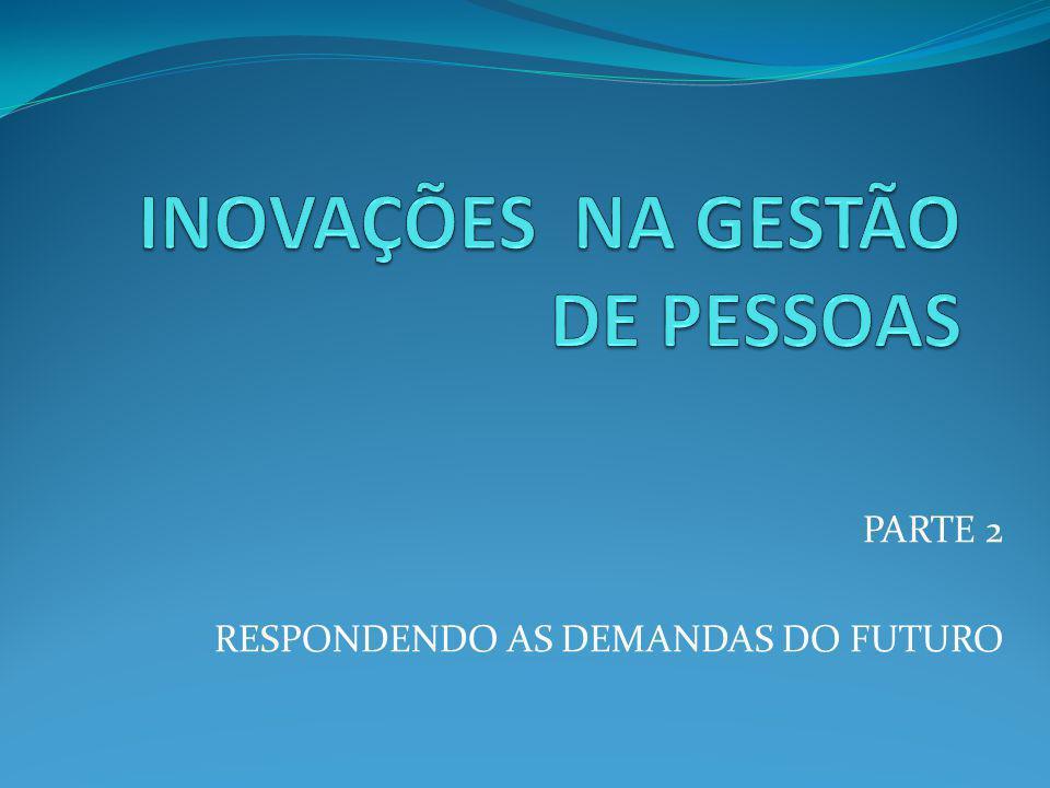 PARTE 2 RESPONDENDO AS DEMANDAS DO FUTURO