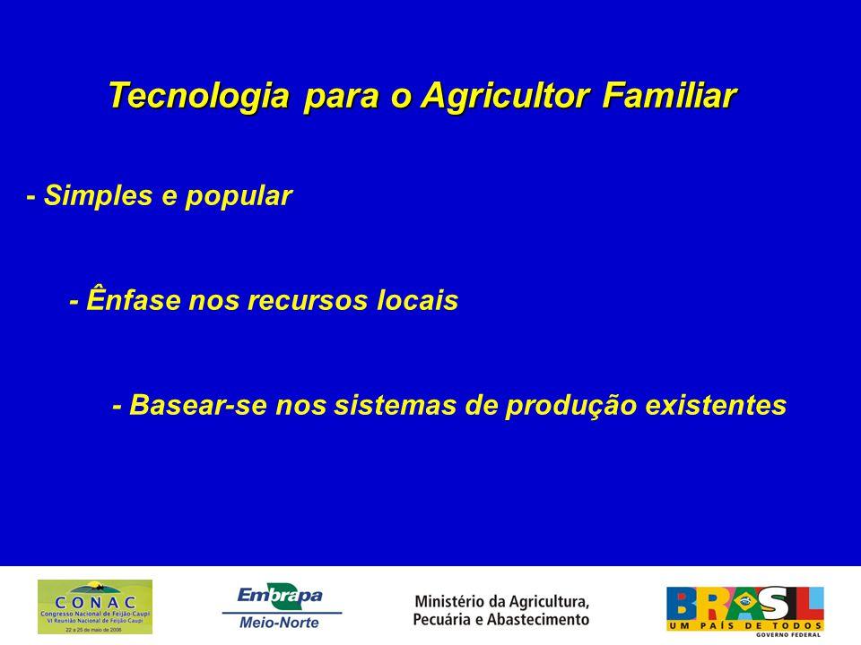 UNIDADE DE PRODUÇÃO AGRÍCOLA Feijão-caupi em cultivo solteiro