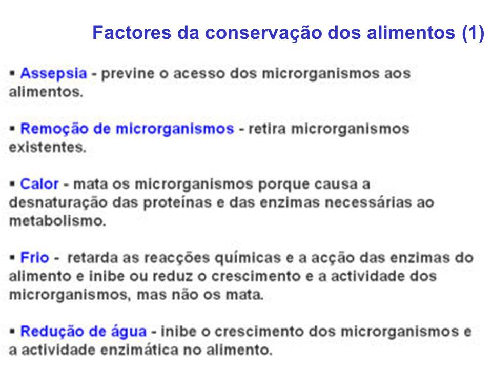 Factores da conservação dos alimentos (1)