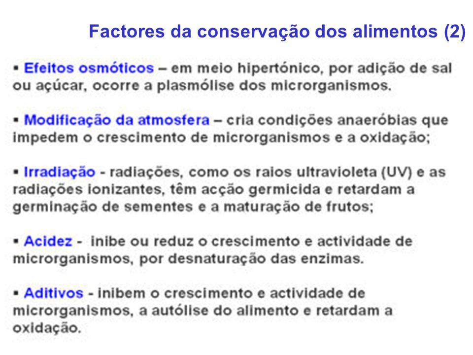 Factores da conservação dos alimentos (2)