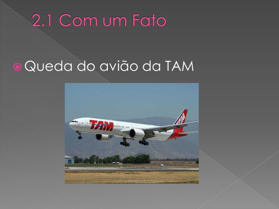  Queda do avião da TAM