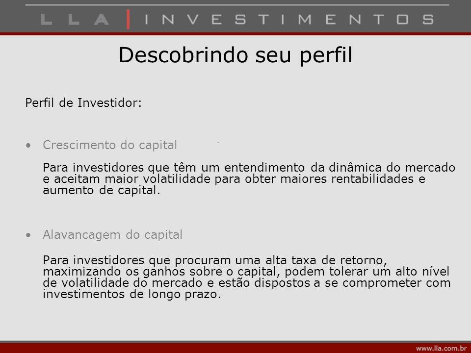 Descobrindo seu perfil Alavancagem do capital Para investidores que procuram uma alta taxa de retorno, maximizando os ganhos sobre o capital, podem to