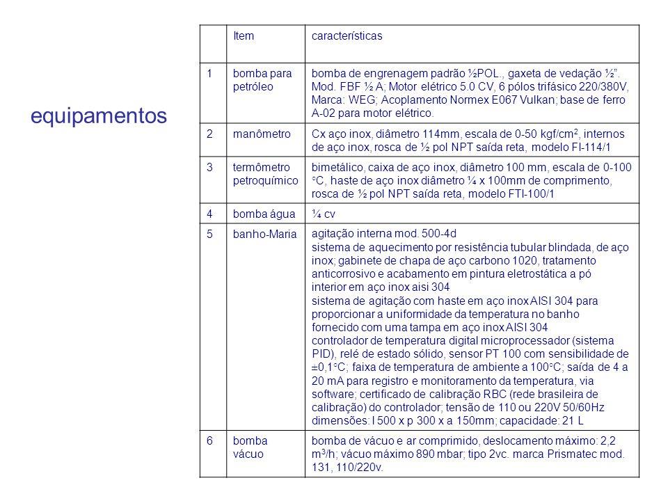 """Itemcaracterísticas 1bomba para petróleo bomba de engrenagem padrão ½POL., gaxeta de vedação ½"""". Mod. FBF ½ A; Motor elétrico 5.0 CV, 6 pólos trifásic"""