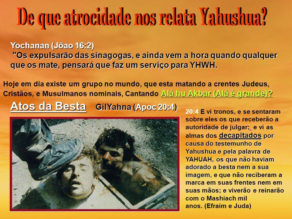 Yochanan (Jõao 16:2)