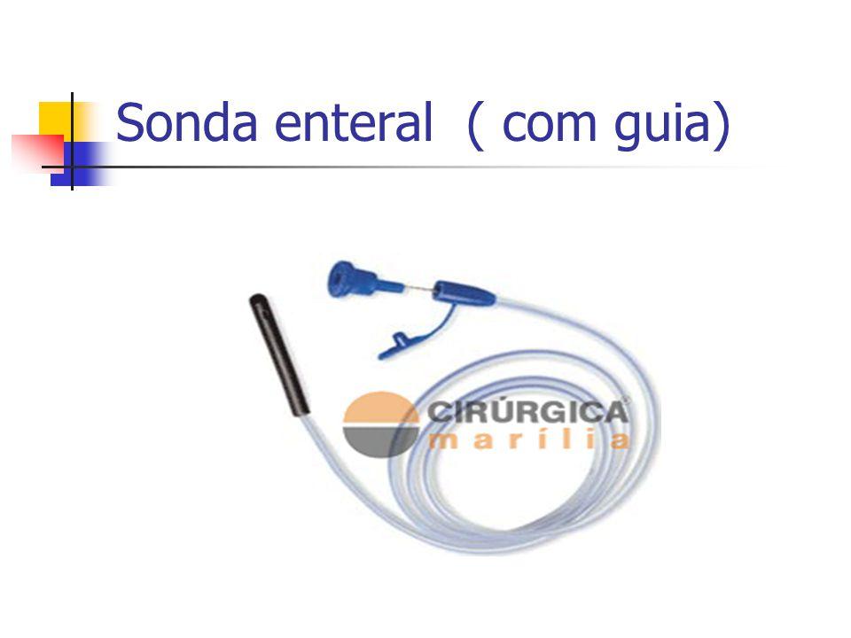 Sonda enteral ( com guia)