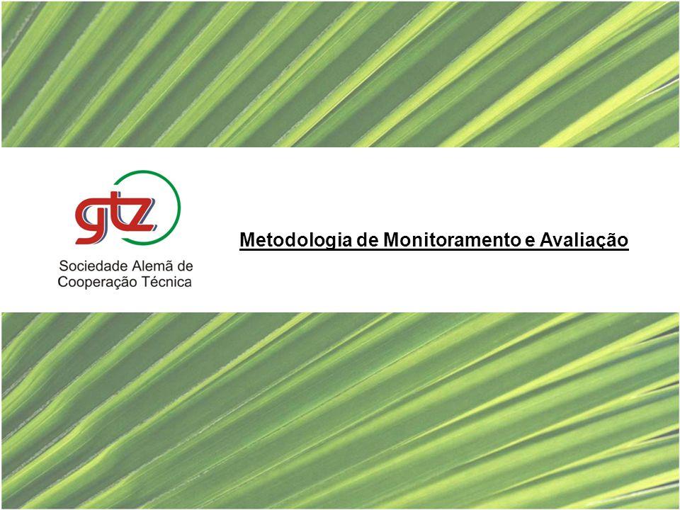 Metodologia de Monitoramento e Avaliação