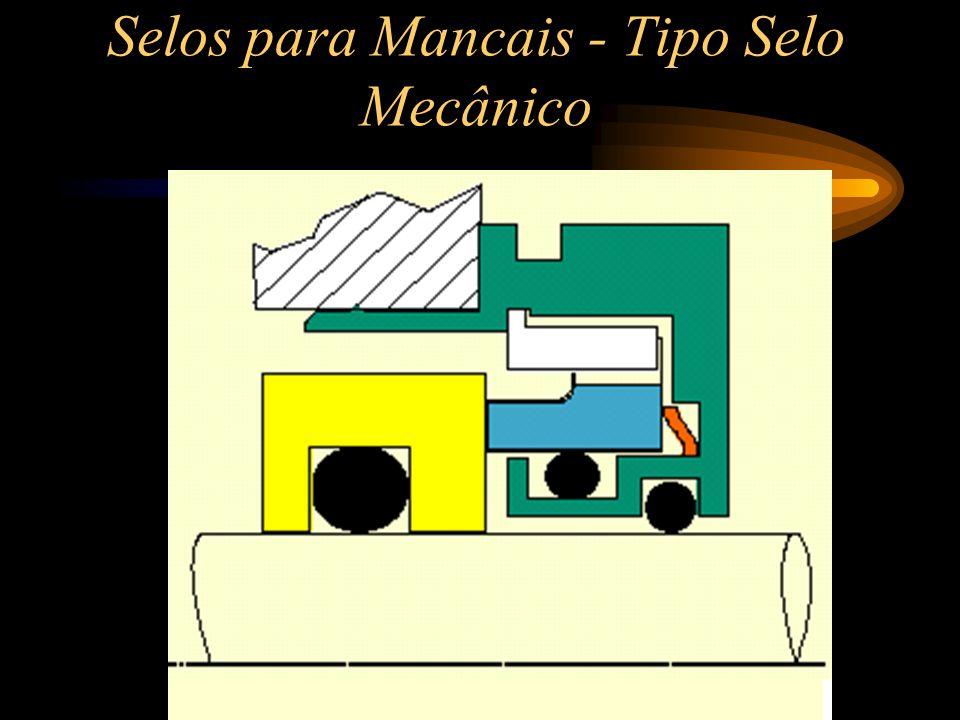 Selos para Mancais - Tipo Selo Mecânico