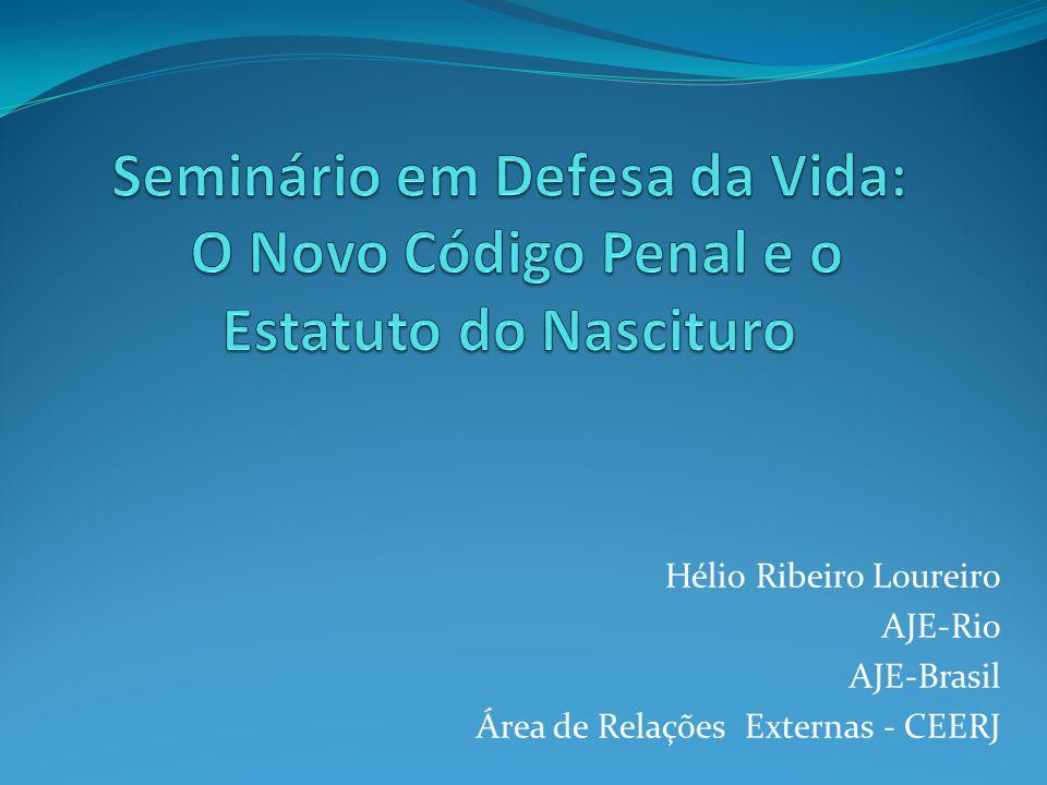 Hélio Ribeiro Loureiro AJE-Rio AJE-Brasil Área de Relações Externas - CEERJ