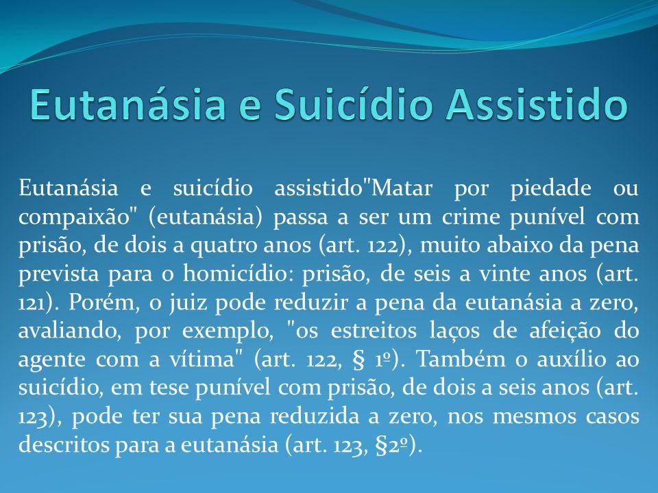 Eutanásia e suicídio assistido