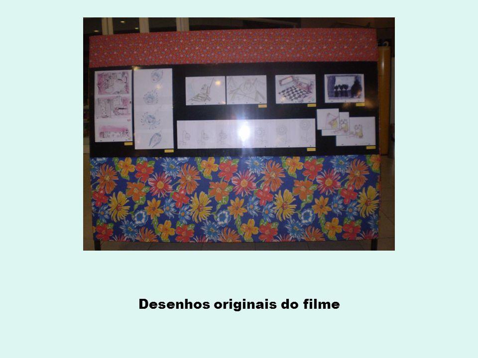Desenhos originais do filme