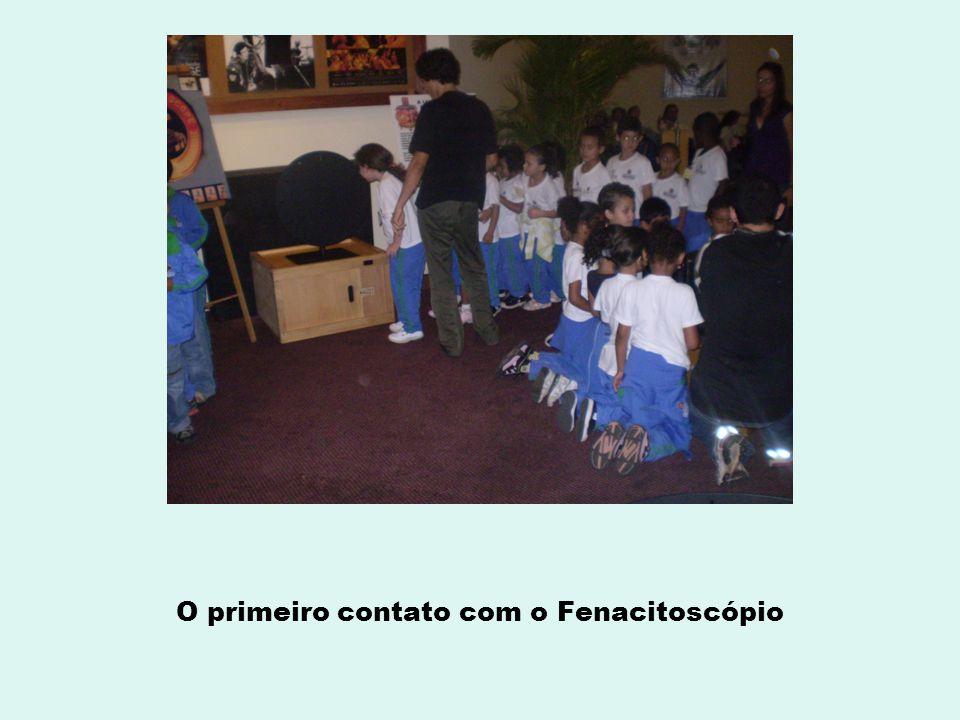 O primeiro contato com o Fenacitoscópio