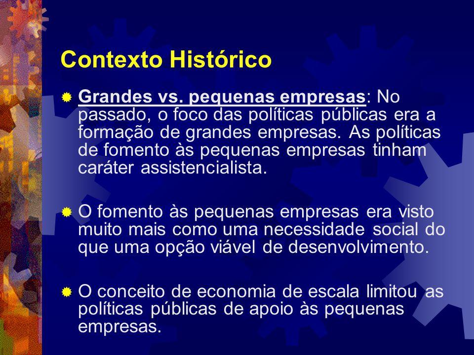 Contexto Histórico  Grandes vs.