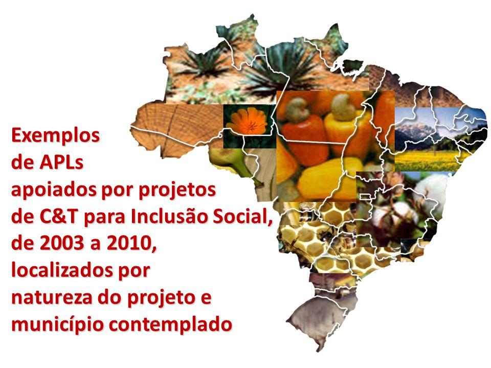 Região NORTE AMAZONAS Manaus – medicamentos AMAPÁ Macapá – açaí Mazagão – açaí Santana – açaí ACRE sementes e óleos