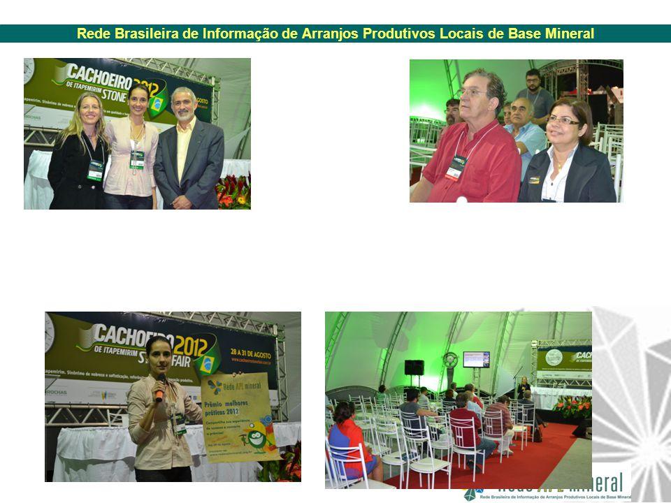 Rede Brasileira de Informação de Arranjos Produtivos Locais de Base Mineral
