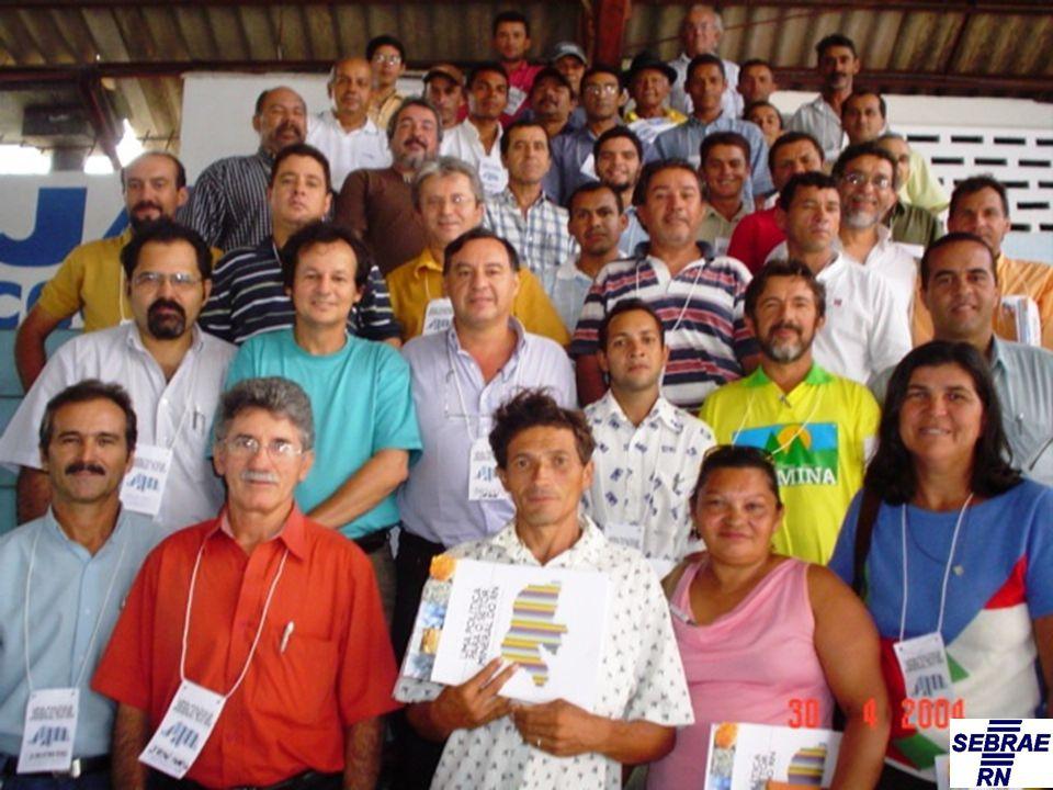 CONTEXTUALIZAÇÃO 2006 – Iniciamos o Projeto APL Pegmatitos do Seridó...