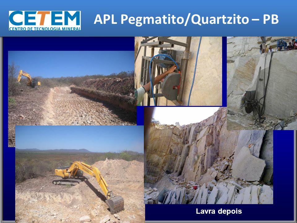 Lavra depois APL Pegmatito/Quartzito – PB
