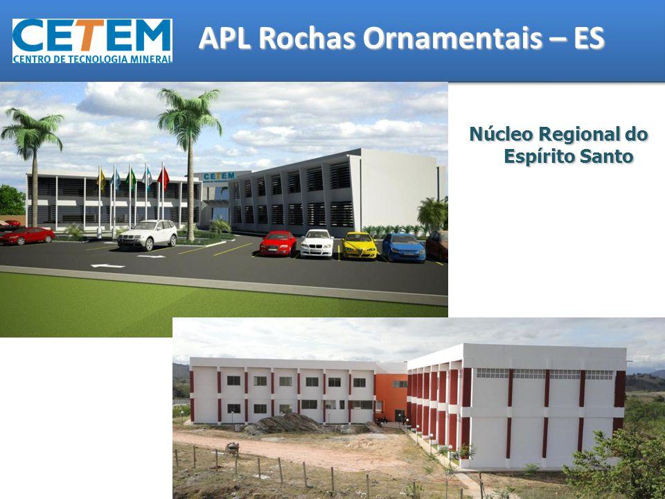 Núcleo Regional do Espírito Santo APL Rochas Ornamentais – ES