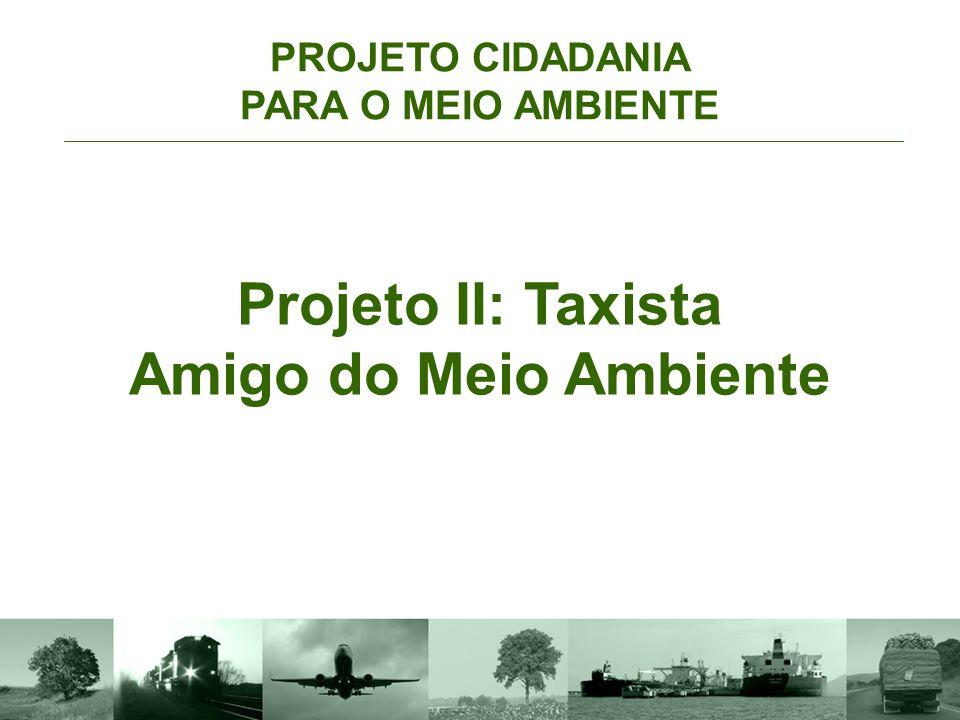PROJETO CIDADANIA PARA O MEIO AMBIENTE Projeto I: Caminhoneiro Amigo do Meio Ambiente Com essa ação, a Confederação Nacional do Transporte irá :  Aco