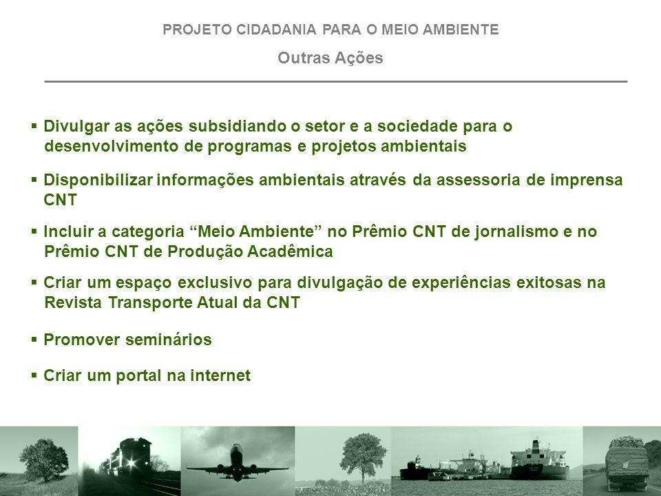 """ Promover o curso presencial """"Trabalhador em Transporte Amigo do Meio Ambiente"""" PROJETO CIDADANIA PARA O MEIO AMBIENTE Projeto I: Trabalhador em Tran"""