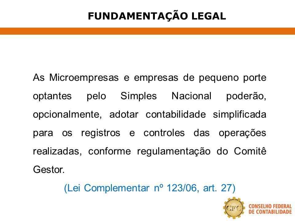 CONSIDERAÇÕES FINAIS A EXIGÊNCIA DE MANUTENÇÃO DE CONTABILIDADE NAS PEQUENAS EMPRESAS CONTRIBUIRÁ PARA A FORMALIZAÇÃO DOS NEGÓCIOS, NOTADAMENTE PELO CONTEXTO GERAL DA LEGISLAÇÃO PERTINENTE, EM RELAÇÃO ÀS COMPRAS GOVERNAMENTAIS, À OBTENÇÃO DO CRÉDITO, À INSERÇÃO NOS PROJETOS DE AQUISIÇÃO DE TECNOLOGIA E À PERMANÊNCIA NO SIMPLES